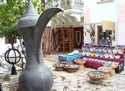 Typical Kalkan village shop
